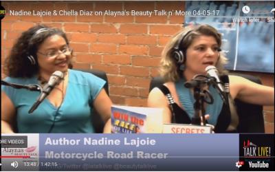Nadine Lajoie & Chella Diaz on Alayna's Beauty Talk n' More