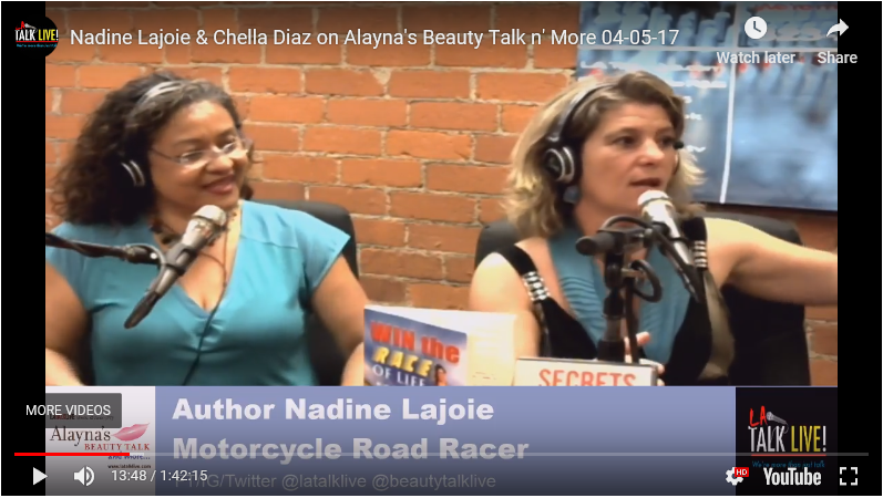 Nadine Lajoie & Chella Diaz on Alayna's Beauty Talk n' More